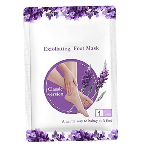 Sanfiyya Foot Pedicure Socks Exfoliating Foot Peeling Cover Cream Heels Dead Skin Remover 1 paar