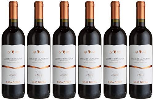 Cielo e Terra Casa Defra Cabernet-Sauvignon DOC Colli Berici trocken 6 Flaschen, 6er Pack (6 x 750 ml)