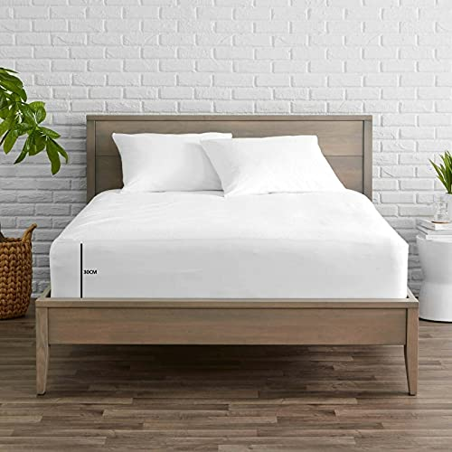 400 Thread Count 100% Egyptian Cotton Fitted Bed Sheet 30cm (12 inc) Extra...