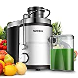 SHARDOR Centrifugal Juicer Machine, Electric Juice Extractor with Big Mouth 3' Feed Chute, 400 Watts...