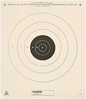 Champion NRA Paper GB-3 50-Feet Timed and Rapid Fire Target (Pack of 12)