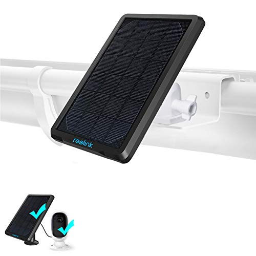 Koroao Gutter Mount Compatible with Reolink Argus 3+Solar Panel, Reolink Rechargeable Battery Security Camera - Best Angle and Flexible Adjustment Wall Mount (White)