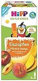 Hipp Kinder Dessert, Eis-Zapfen Pfirsich-Mango, 25 x 30 ml - Bio -