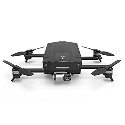 GDU - O2 Quadcopter Drone with HD Camera (4K Video Resolution, Vision Positioning System, Smart Shot, 3-Axis Stable Video Capture, 1Km HD Video Transmission, Obstacle Avoidance, Sliding Arm Foldable) by GDU