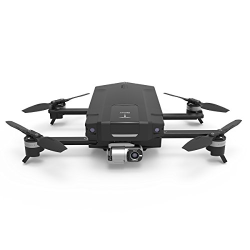 GDU - O2 Quadcopter Drone with HD Camera (4K Video Resolution, Vision Positioning System, Smart Shot, 3-Axis Stable Video Capture, 1Km HD Video Transmission, Obstacle Avoidance, Sliding Arm Foldable)