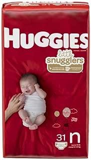 Huggies Little Snugglers Diapers - Newborn (31ct) (Pack of 2)