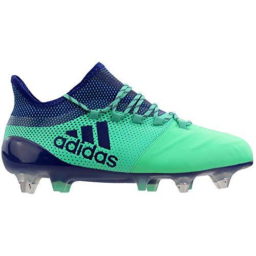 adidas Mens X 17.1 Soccer Cleats - Green - Size 11 D