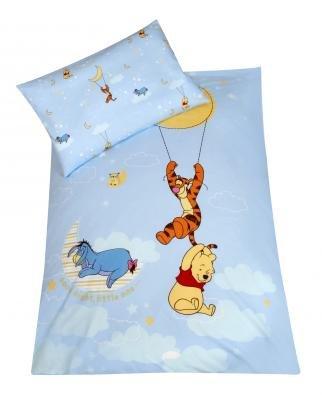 Julius Zöllner 8510100000 Linge de lit pour les enfants 100 x 135 cm und 40 x 60 cm, Disney Motiv