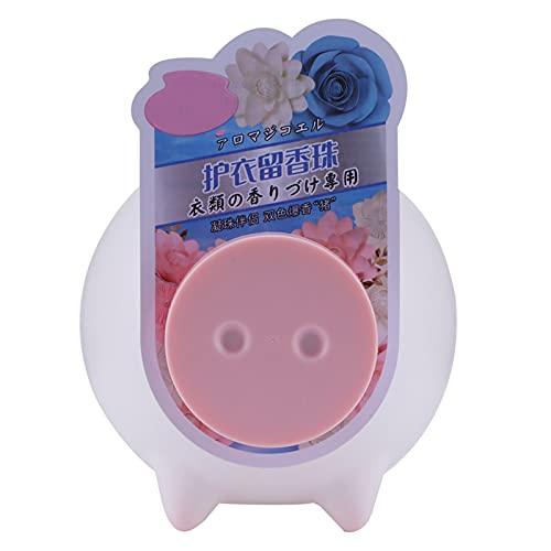 200g Perlas de fragancia duradera Suavizante de ropa Suministros de lavado de perfume para ropa de varios materiales(Rosa)