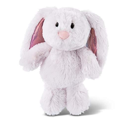 NICI 46332 Kuscheltier Hase hellgrau 20 cm – Plüschtier für Mädchen, Jungen & Babys – Flauschiges Stofftier zum Spielen, Sammeln & Kuscheln – Gemütliches Schmusetier
