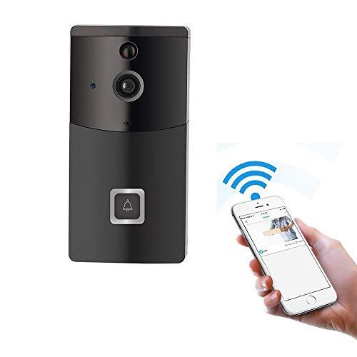 Videocitofono Campanello con Wifi, GAKOV GAB10 Visuale da 170 Gradi, Campanello Smart...