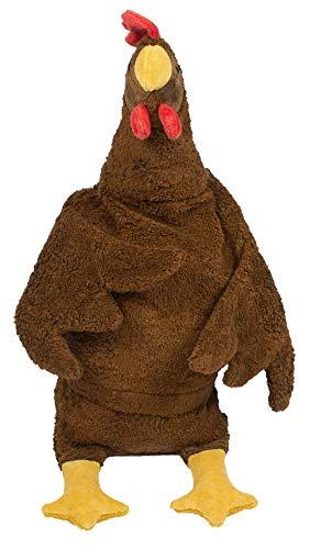 Senger Naturwelt Kuscheltier Huhn Groß Braun