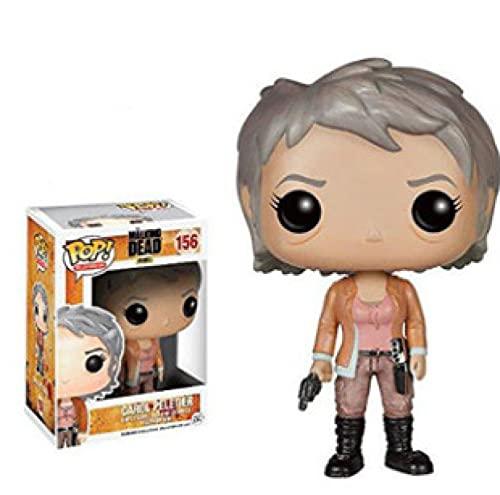Películas Pop The Walking Dead Figuras Carol Peletier # 156 Muñeca De Vinilo Figura De Acción...