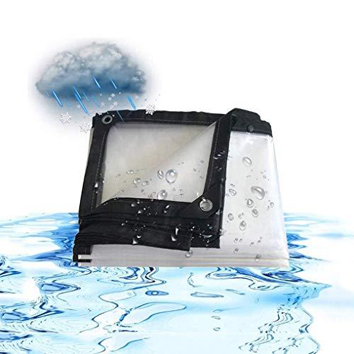 QI-CHE-YI Impermeables de toldos, Cubiertas de Invernadero Perforado película Impermeable de Tela, Barcos y campistas,3x9m