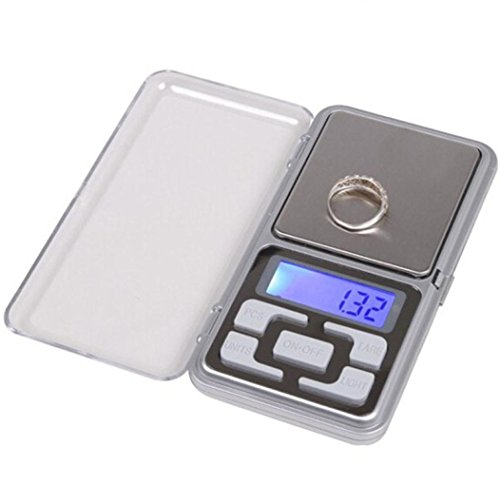 Euone 0.01~200g Gram Mini Lighter Style Digital Pocket Scale