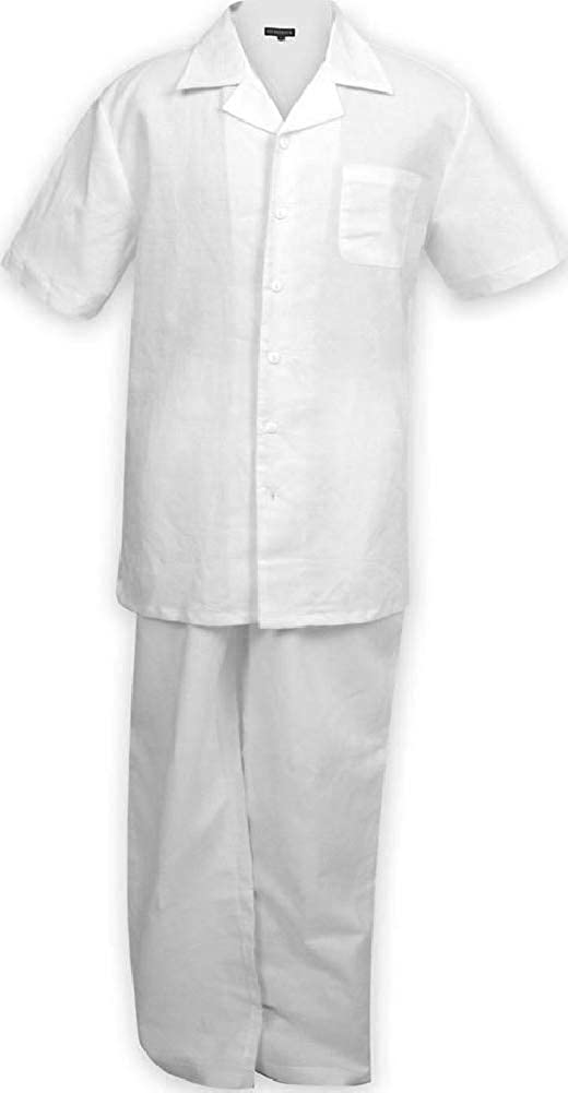Big and Tall Lightweight Casual Walking Suits Linen Look to 8X