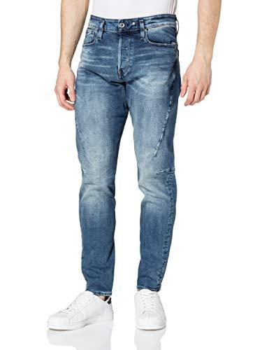 G-STAR RAW Herren Scutar 3D Slim Tapered Jeans, Blau (Vintage Azure C052-A802), 30W / 36L