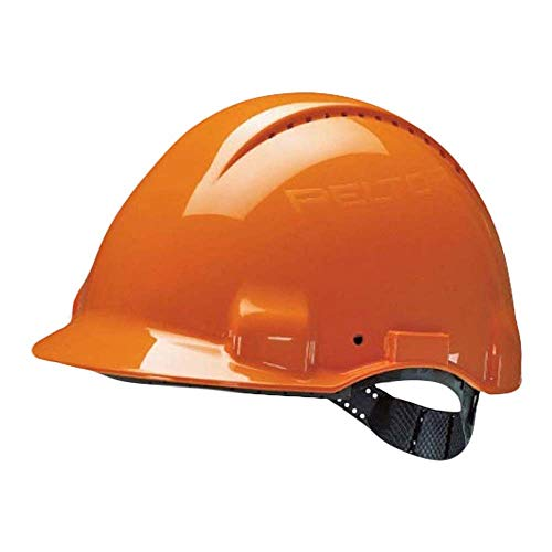 3M G30CUO Peltor Schutzhelm G3000C, ABS, Helm Innenausstattung mit Kunststoff SchWeißband  und Pinnlock Verschluss, belüftet, Orange