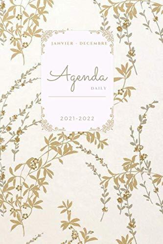 """Agenda 2021-2022 dia por pagina: agenda 2021 dia por pagina- Agenda Diaria de Enero 2021 a Diciembre 2021se puede utilizar como """"diario, agenda, ... diario diario diario.... más de 390 páginas"""