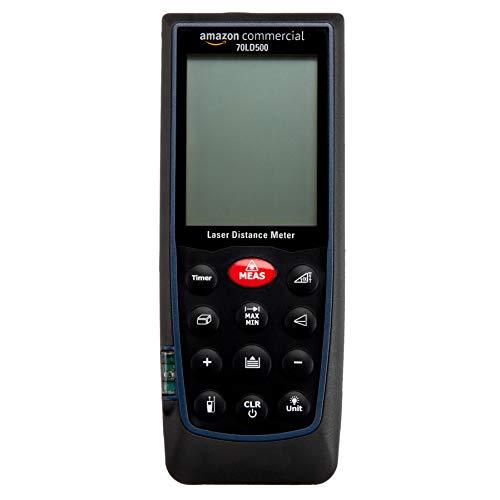 AmazonCommercial - Medidor de distancia láser, 100 m, medición rápida, uso...