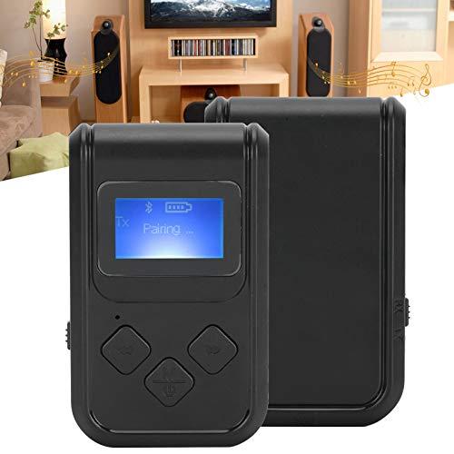 SHYEKYO Adaptador de Audio inalámbrico de 3,5 mm Adaptador de Audio 2 en 1 de 10 m / 32,8 pies, para Audio, Equipo Adaptador de Audio