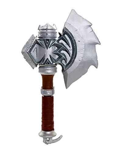 Horror-Shop Warcraft Axe of Durotan / Axt of Durotan Warcraft Merchandise 35 cm Kunststoff