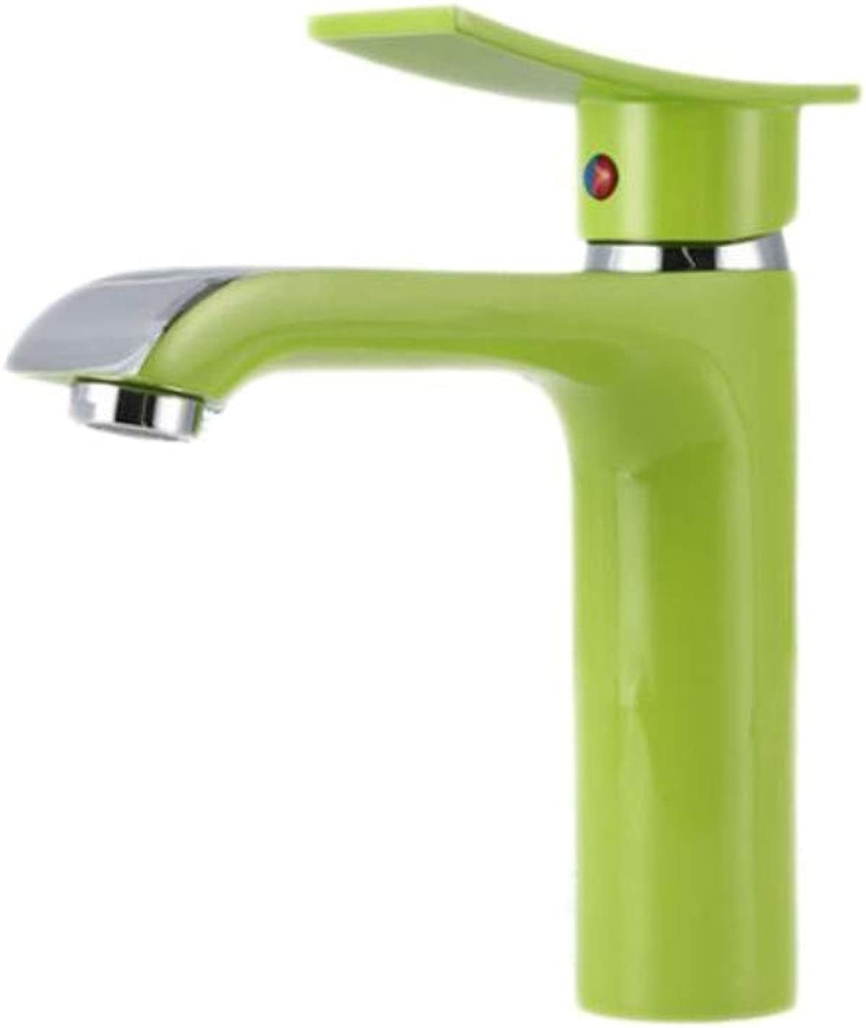 Bathroom Faucet Green Bathroom Basin Faucet with Solid Brass Basin Sink Faucet by Top Quality Polished Chrome Bathroom Mixer Tap