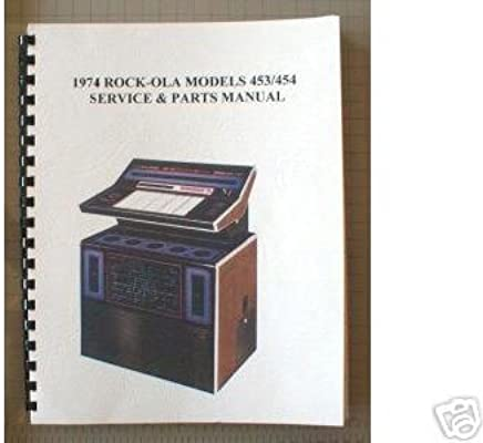 Rock-Ola Service Manual for Model 453 (100 Selections) and