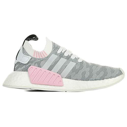 adidas Damen NMD_R2 Primeknit Sneaker, Weiß - 4