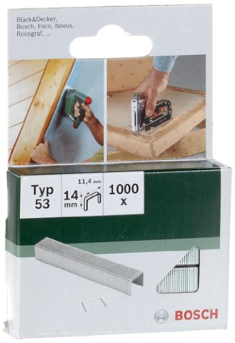 Bosch 2609255823 DIY Klammern Typ 53 11.4 x 0.74 x 14 mm