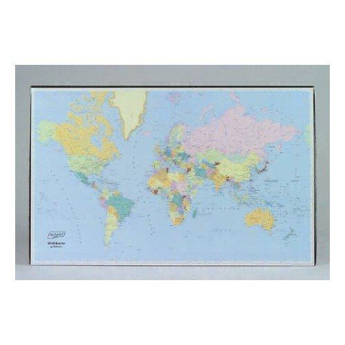 Bureau-onderlegger wereldkaart