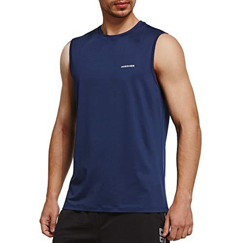 Ogeenier Herren Sommer Sport Tank Top Muskelshirt Trainingsshirt für Training Gym Fitness & Bodybuilding