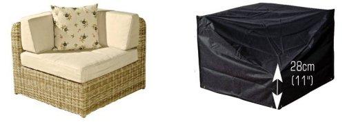Bosmere Housse de Protection pour unité d'angle de canapé de Jardin