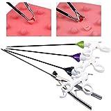 ZLSN 4 unids/Set Instrumento para Entrenamiento de laparoscopio, fórceps, Tijeras, grasper, Porta Agujas