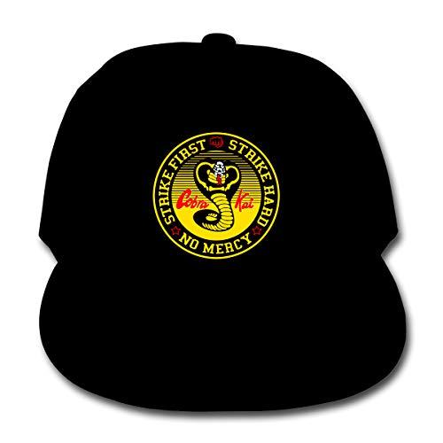 U are Friends Casquette de Baseball Ajustable Cobra Kai Hip Hop Hat Garçon Filles Enfants Sport