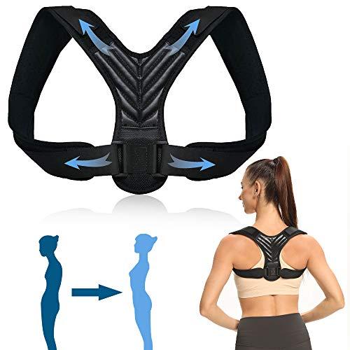 UTOBEST Corrector de Postura, Corrector Postura Espalda Hombre Mujer Niños Corrector Postura Ajustable de Respaldo,XL