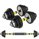 YC Hanteln Dumbbell Fitness Hanteln Galvani Hantel Heimfitnessgeräte EIN Paar Einstellbarer 15kg Hantel-Set Einstellbare Gewicht Hanteln Dumbbells