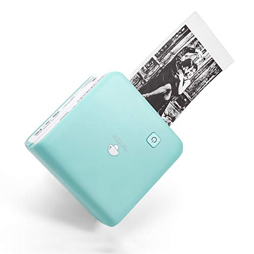 300DPI Mini Thermal Printer - Phomemo M02 Pro Bluetooth Pocket Printer Portable Inkless Photo Printer Compatible with iOS & Android, Ideal for Printing Photo, Label, to-Do Lists, Journal, Scrapbook