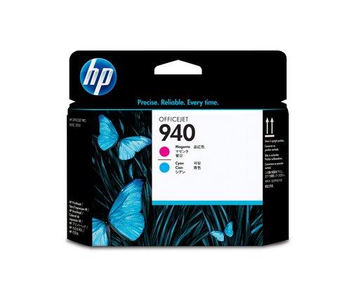 HP 940 Druckkopf magenta + cyan