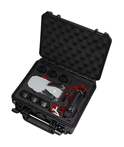 TOMcase Maleta compacta, Maletín Smart o Mochila Profesional para dji Mavic Mini (no Mini 2) + Accesorios | Fly More Combo | Listo para Volar | Recarga de baterías en el Caso (Maleta Compacta)