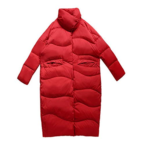 Cocoon Daunenjacke, schwerer Mantel, lockerer Knöchel, Business Freizeitkleidung, winddichter und atmungsaktiver Stoff-M