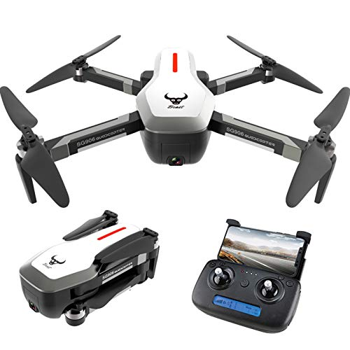 Doneioe SG906 GPS Brushless 4K Drone with Camera 5G WiFi FPV Foldable Optical Flow Positioning Altitude Hold RC Quadcopter