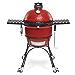 Kamado Joe KJ23RHC Classic II Charcoal Grill, Blaze Red (Renewed)