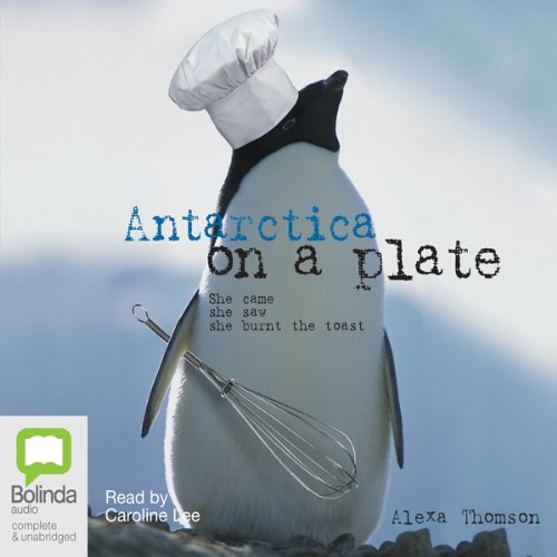 Antarctica on a Plate audiobook cover art