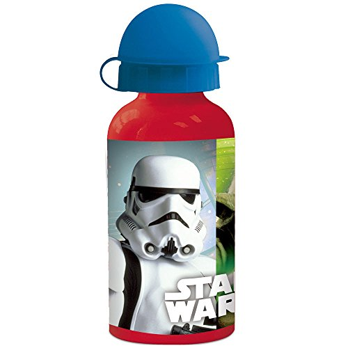 No Name Star Wars aluminium fles, open close deksel
