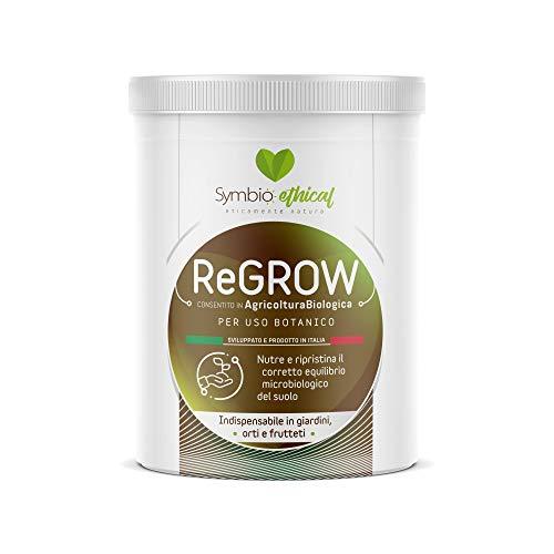 Symbioethical ReGrow-Biostimolante per Piante e orti con micorrize e microrganismi vivi 500gr