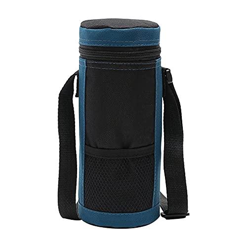 Amandaz Wasserflaschenkühler Tote Bag Isolierter Halter Carrier Cover Pouch für Reisen Outdoor-Lunchbeutel tragbarer Rotwein-Eisbeutel im Freien