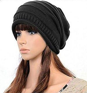 Designer Warm Skullies Women Men Unisex Winter Knitted Hat Crochet Plicate Baggy Beanie Ski Hat Acrylic Slouchy Caps GH312...