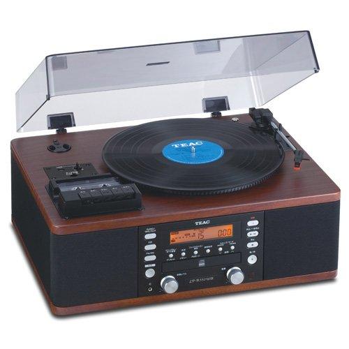 Teac LPR550-USB CD Recorder with Cassette Turntable (Walnut)