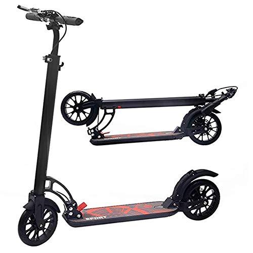 Patinetes Scooter For Niños/Adultos con Sistema De Plegado Fácil De 3 Segundos,...